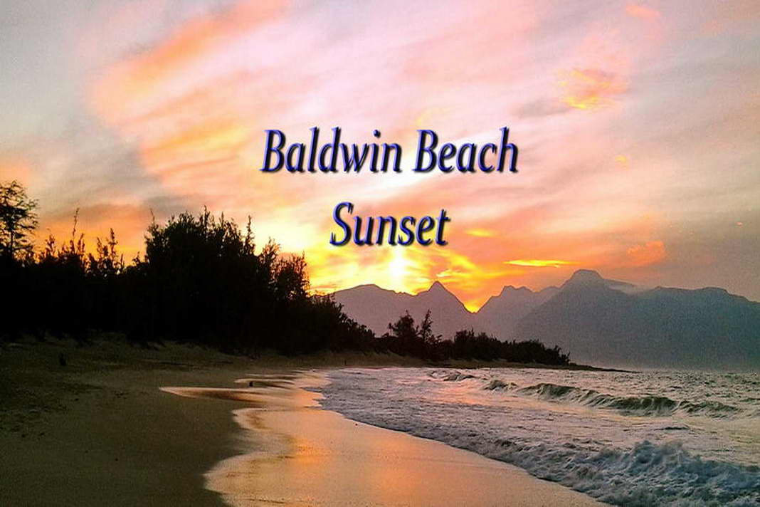 Sunset at Baldwin and Spreckelsville Beaches